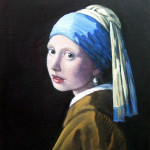girl with pearl