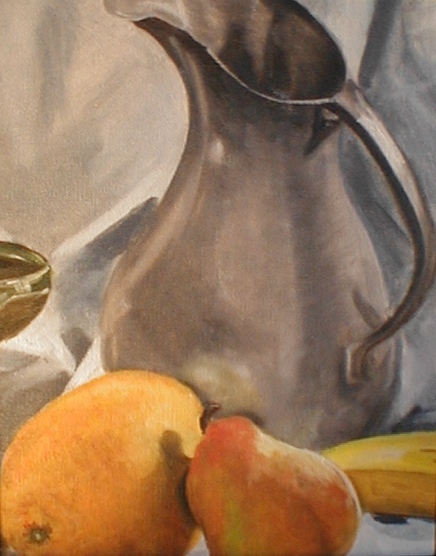 pitcher-and-fruit